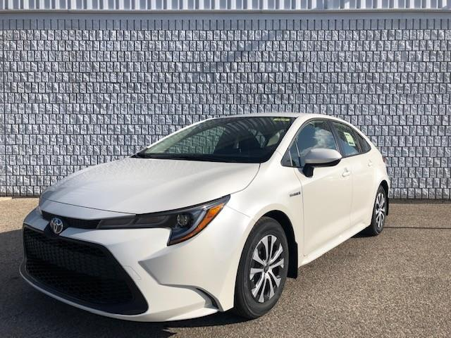 2021 Toyota Corolla Hybrid Base w/Li Battery (Stk: 43000) in Chatham - Image 1 of 2