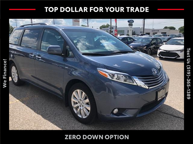 2017 Toyota Sienna XLE 7 Passenger (Stk: CP10086) in Chatham - Image 1 of 13