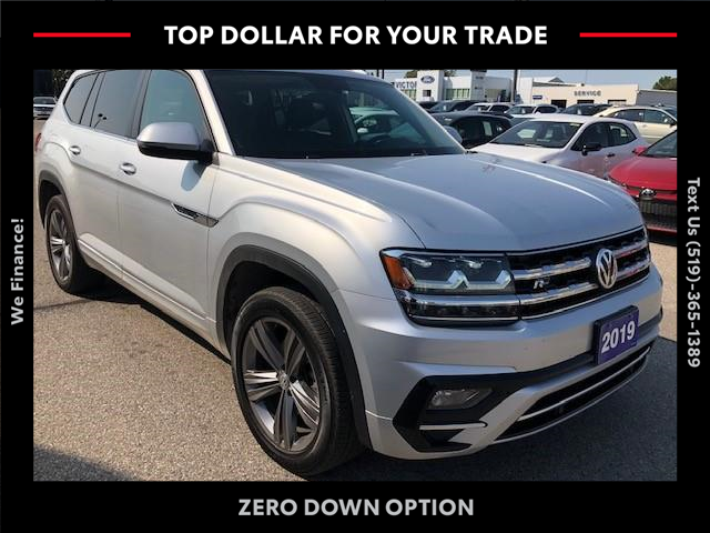 2019 Volkswagen Atlas 3.6 FSI Highline (Stk: ) in Chatham - Image 1 of 12