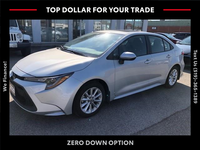 2020 Toyota Corolla LE (Stk: CP10246) in Chatham - Image 1 of 7