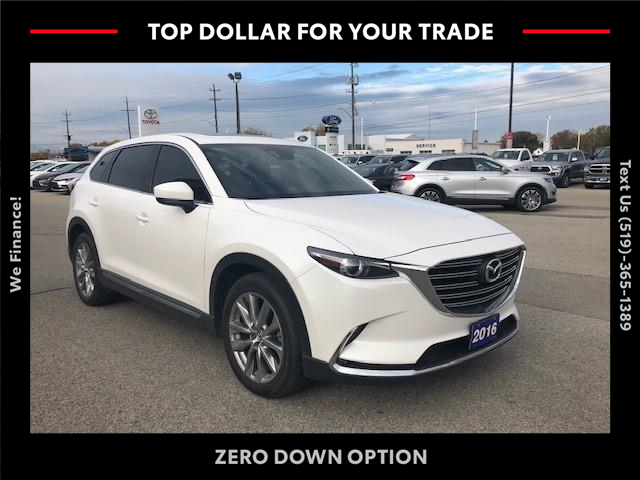2016 Mazda CX-9 GT JM3TCBDY4G0123043 CP10238 in Chatham