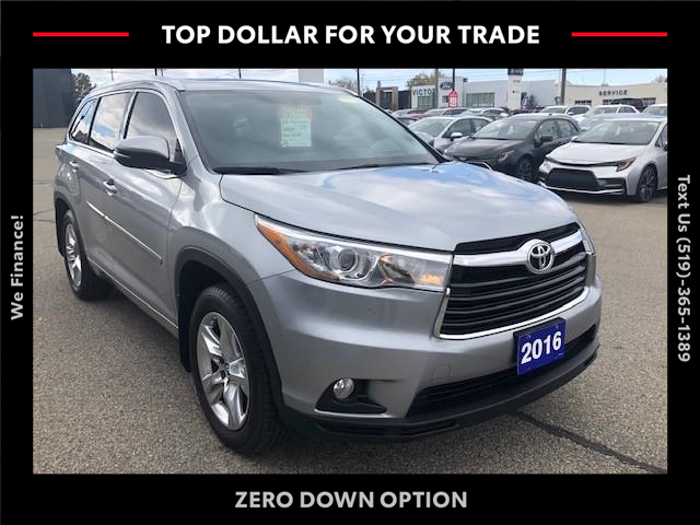 2016 Toyota Highlander Limited (Stk: 42402A) in Chatham - Image 1 of 14