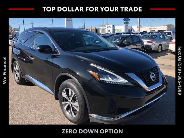 2019 Nissan Murano SV (Stk: ) in Chatham - Image 1 of 7