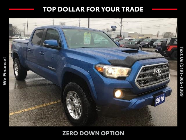 2016 Toyota Tacoma SR5 (Stk: 43083A) in Chatham - Image 1 of 11