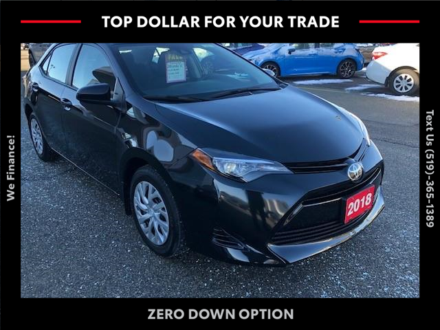 2018 Toyota Corolla LE (Stk: CP10224) in Chatham - Image 1 of 12