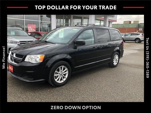 2014 Dodge Grand Caravan SE/SXT (Stk: CP10201A) in Chatham - Image 1 of 13