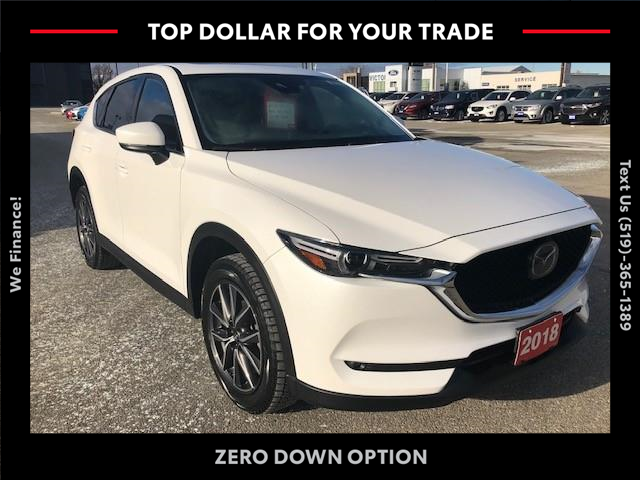 2018 Mazda CX-5 GT (Stk: 43142A) in Chatham - Image 1 of 14