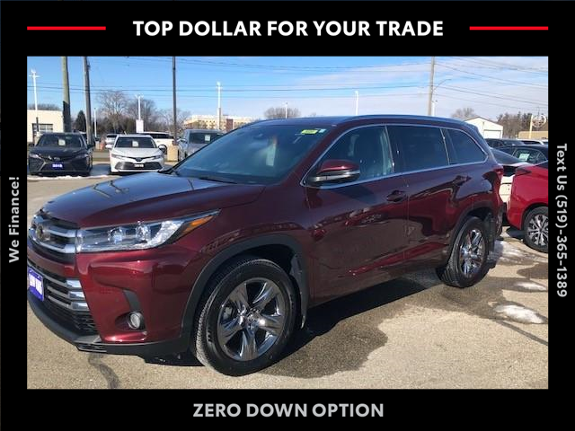 2018 Toyota Highlander Limited (Stk: CP10357) in Chatham - Image 1 of 16