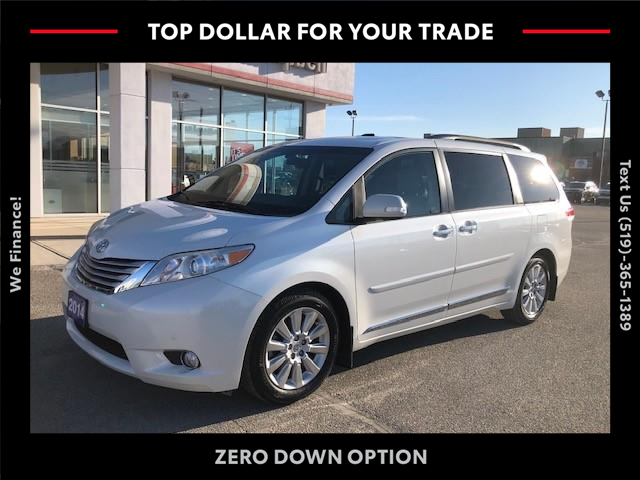 2014 Toyota Sienna XLE 7 Passenger (Stk: ) in Chatham - Image 1 of 18