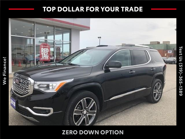 2018 GMC Acadia Denali (Stk: 43209A) in Chatham - Image 1 of 15