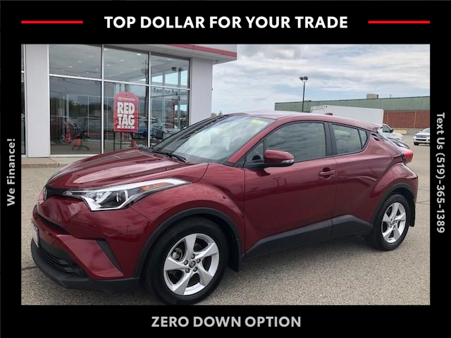 2019 Toyota C-HR Base (Stk: CP10495) in Chatham - Image 1 of 15