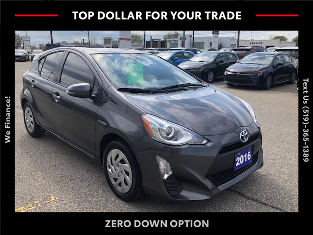 2016 Toyota Prius C Base (Stk: 43193A) in Chatham - Image 1 of 14