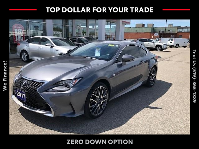 2017 Lexus RC 300 Base (Stk: CP10575) in Chatham - Image 1 of 13