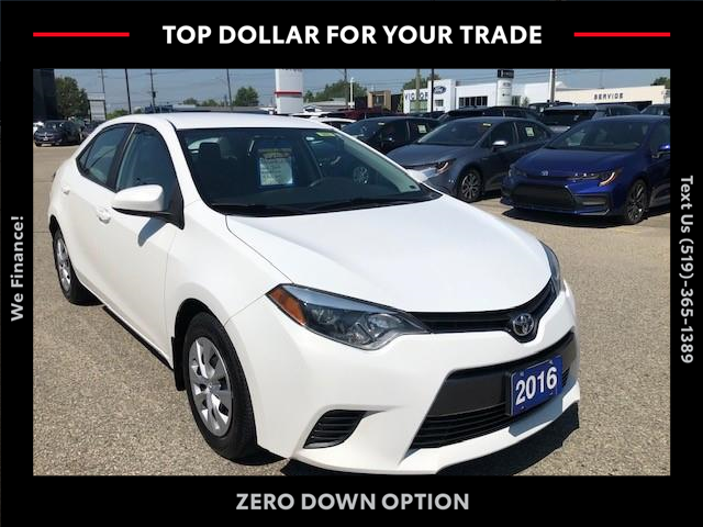 2016 Toyota Corolla LE ECO (Stk: 43022A) in Chatham - Image 1 of 13