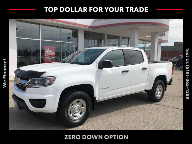 2018 Chevrolet Colorado WT (Stk: CP10675) in Chatham - Image 1 of 10