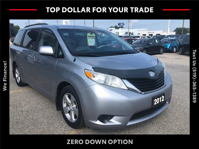 2012 Toyota Sienna LE 8 Passenger (Stk: 43353A) in Chatham - Image 1 of 8