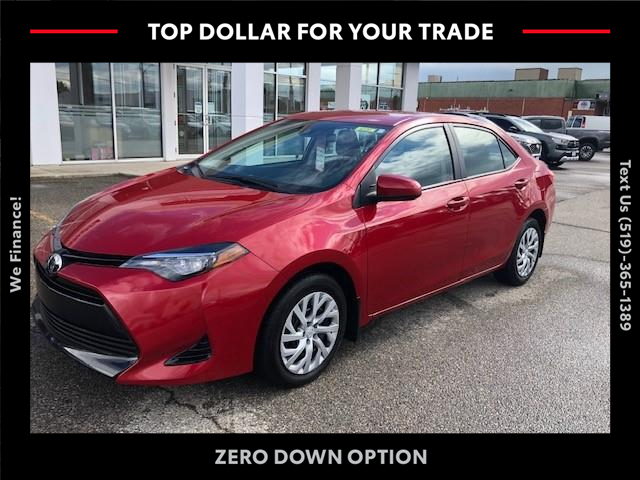 2017 Toyota Corolla LE (Stk: CP10707) in Chatham - Image 1 of 14