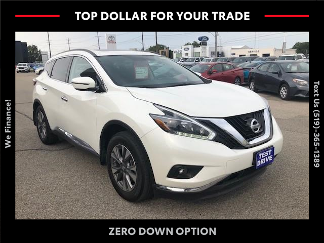 2018 Nissan Murano SV (Stk: CP10669B) in Chatham - Image 1 of 14
