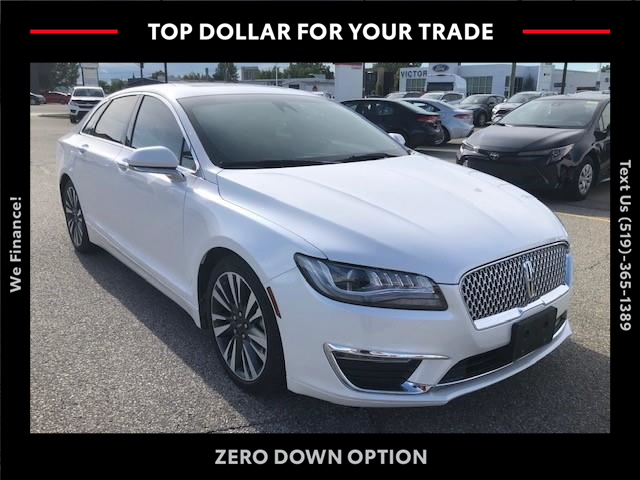 2018 Lincoln MKZ Select (Stk: 43401A) in Chatham - Image 1 of 10