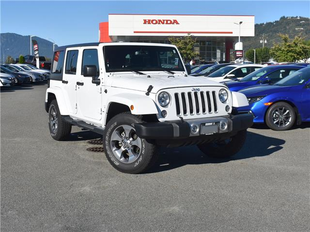 2018 Jeep Wrangler JK Unlimited Sahara (Stk: 20H336A) in Chilliwack - Image 1 of 26