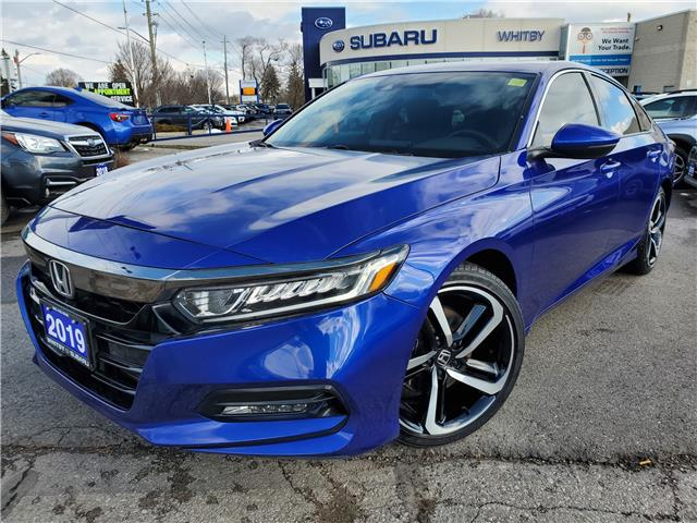2019 Honda Accord Sport 2.0T (Stk: 21S187A) in Whitby - Image 1 of 20
