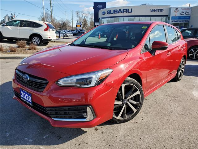 2020 Subaru Impreza Sport-tech (Stk: U4027P) in Whitby - Image 1 of 19