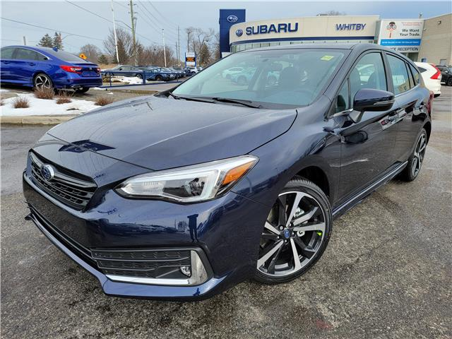 2021 Subaru Impreza Sport-tech (Stk: 21S387) in Whitby - Image 1 of 17