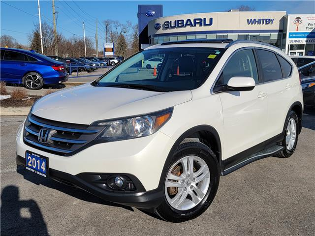 2014 Honda CR-V EX-L (Stk: 21S181A) in Whitby - Image 1 of 19