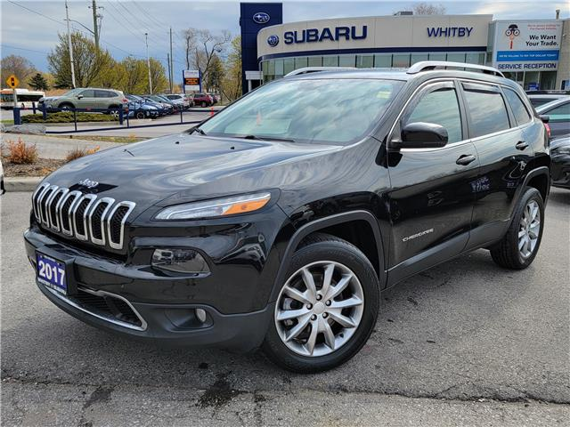 2017 Jeep Cherokee Limited (Stk: 21S296A) in Whitby - Image 1 of 21