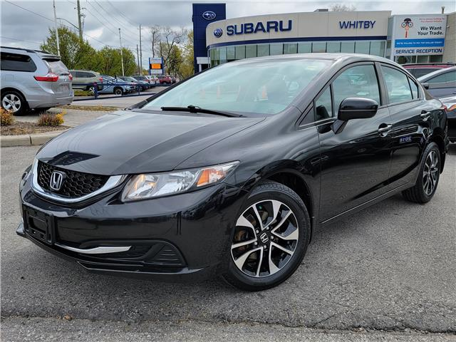2014 Honda Civic EX (Stk: U4129LDA) in Whitby - Image 1 of 20
