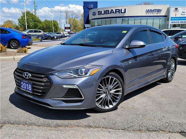 2018 Hyundai Elantra Sport (Stk: 21S536A) in Whitby - Image 1 of 20