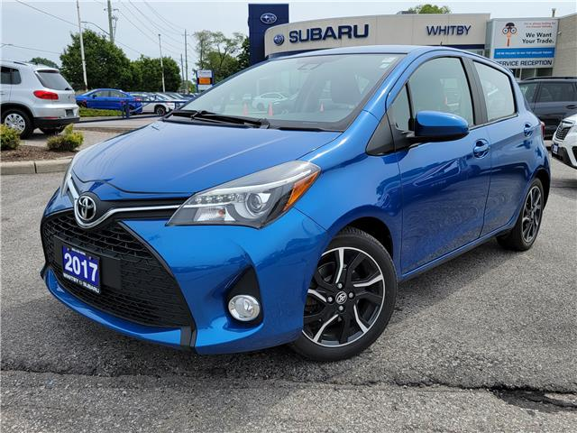 2017 Toyota Yaris LE (Stk: U4208P) in Whitby - Image 1 of 19