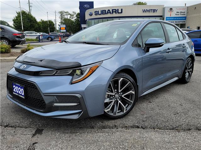 2020 Toyota Corolla SE (Stk: 21S795A) in Whitby - Image 1 of 16