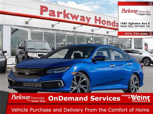2020 Honda Civic Touring (Stk: 26350) in North York - Image 1 of 23