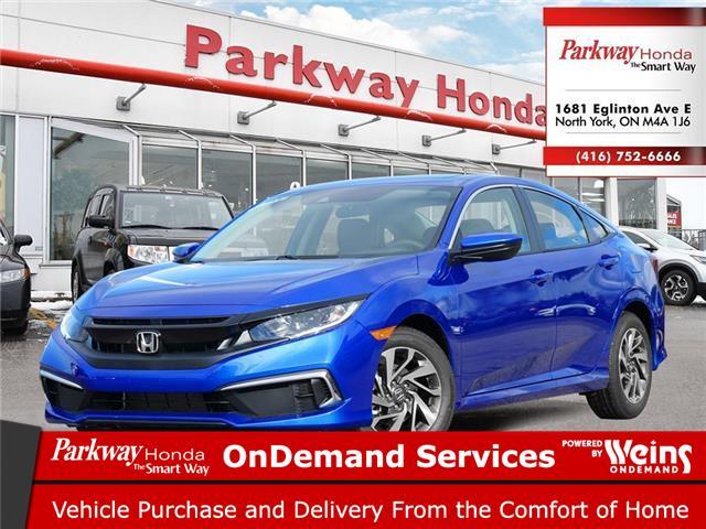2020 Honda Civic EX (Stk: 26495) in North York - Image 1 of 23