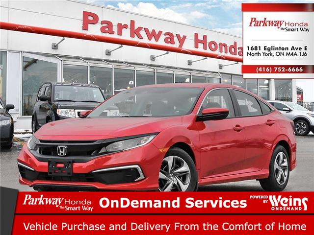 2020 Honda Civic LX (Stk: 26512) in North York - Image 1 of 23