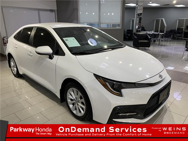 2020 Toyota Corolla SE 5YFB4RBE8LP037236 26574A in North York