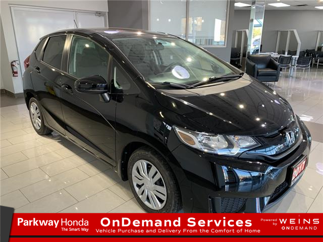 2017 Honda Fit LX 3HGGK5H59HM102705 16996A in North York