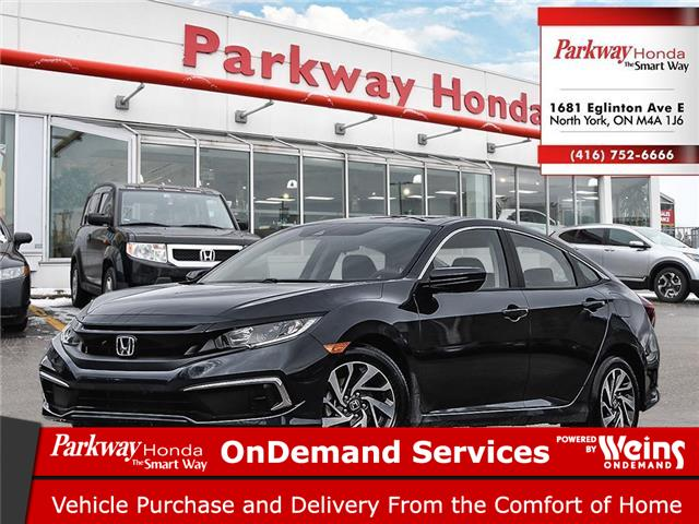 2021 Honda Civic EX (Stk: C1021) in North York - Image 1 of 23
