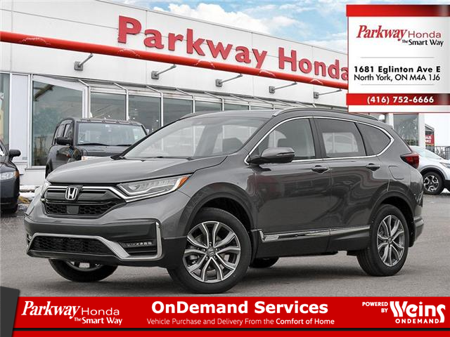 2021 Honda CR-V Touring (Stk: F1012) in North York - Image 1 of 23