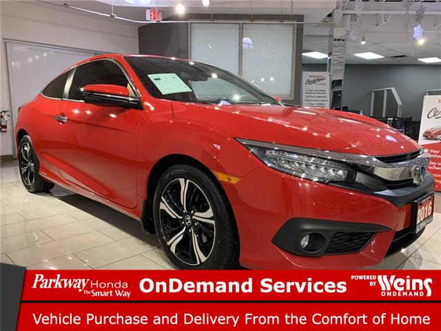 2016 Honda Civic Touring (Stk: 17064A) in North York - Image 1 of 25