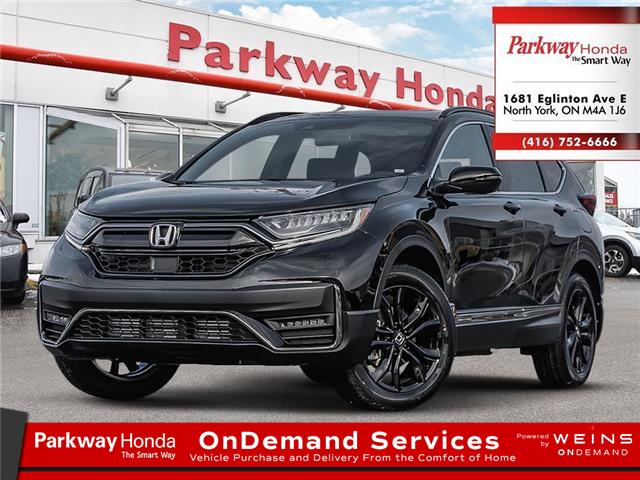 2021 Honda CR-V Black Edition (Stk: F1058) in North York - Image 1 of 23