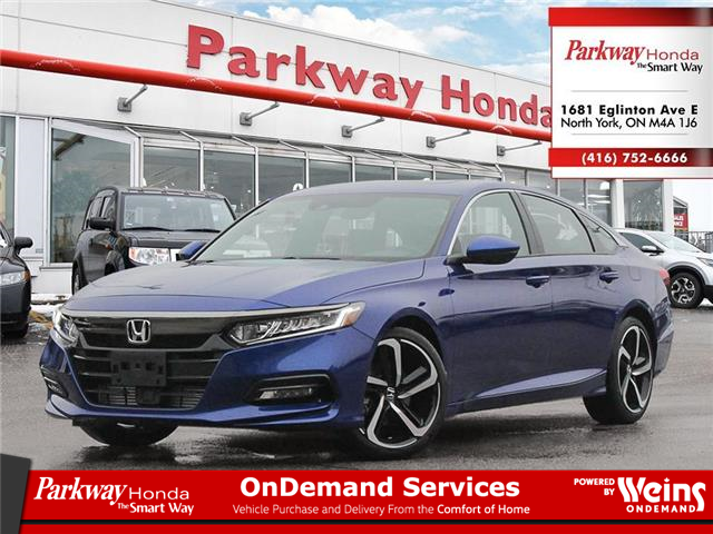 2021 Honda Accord Sport 1.5T (Stk: D1004) in North York - Image 1 of 23