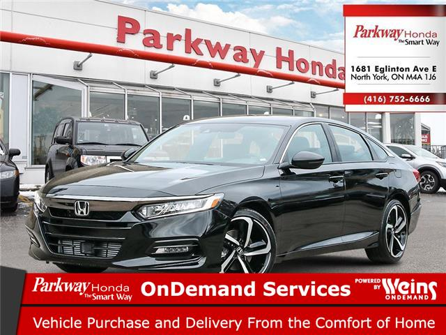 2021 Honda Accord Sport 2.0T (Stk: D1008) in North York - Image 1 of 23