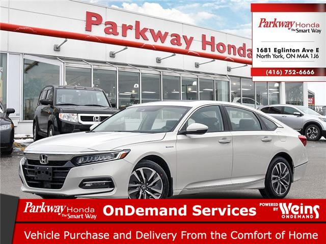 2021 Honda Accord Hybrid Touring (Stk: D1003) in North York - Image 1 of 21