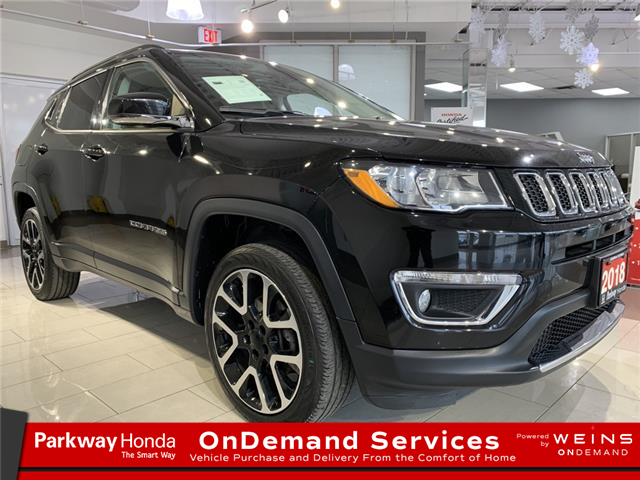 2017 Jeep Compass Limited (Stk: 17083A) in North York - Image 1 of 27