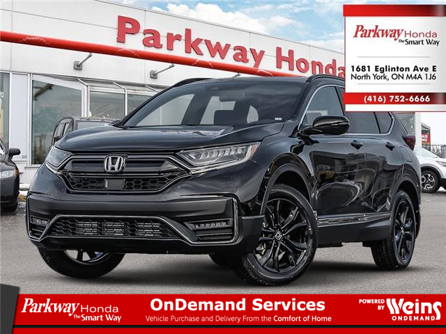 2021 Honda CR-V Black Edition (Stk: F1118) in North York - Image 1 of 23