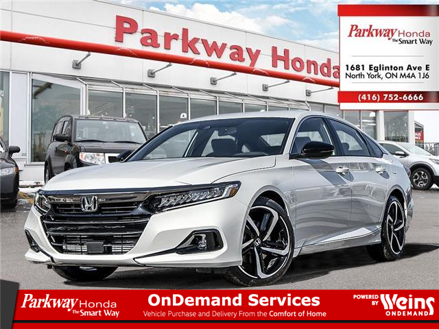 2021 Honda Accord SE 1.5T (Stk: D1010) in North York - Image 1 of 23