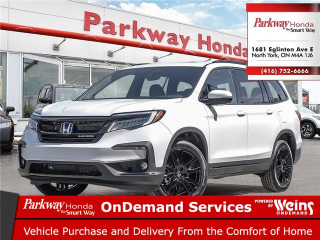 2021 Honda Pilot Black Edition (Stk: H1042) in North York - Image 1 of 23