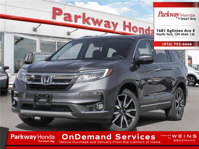 2021 Honda Pilot Touring 8P (Stk: H1046) in North York - Image 1 of 23